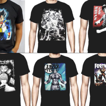 Remeras Anime el Faro Once