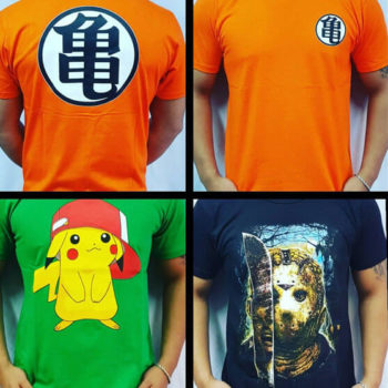 Remeras de Anime el Faro Once