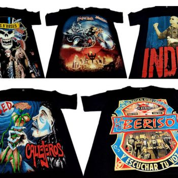 Remeras de Rock el Faro Once